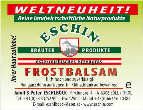 28 A  Frostbalsam 30 g